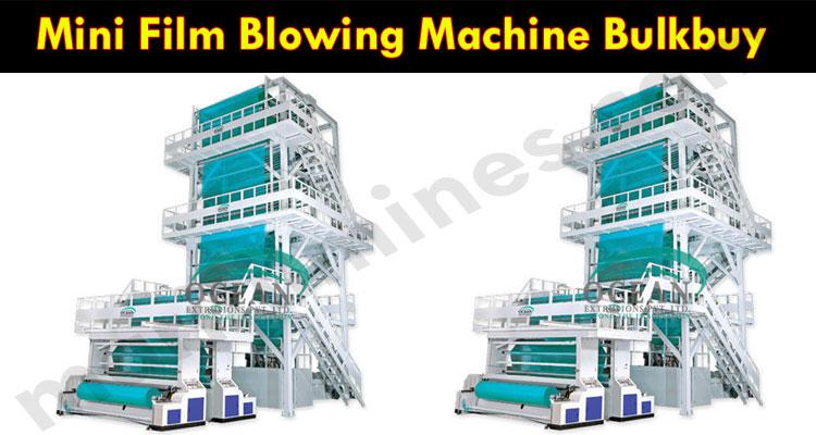 Latest News Mini Film Blowing Machine Bulkbuy
