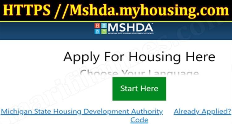 Latest News Mshda.myhousing.com