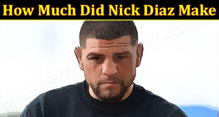Latest News Nick Diaz Make