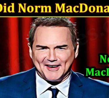Latest News Norm MacDonald Die