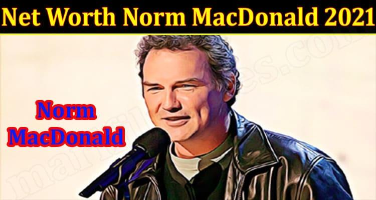 Latest News Norm MacDonald