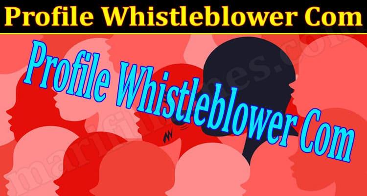 Latest News Profile Whistleblower