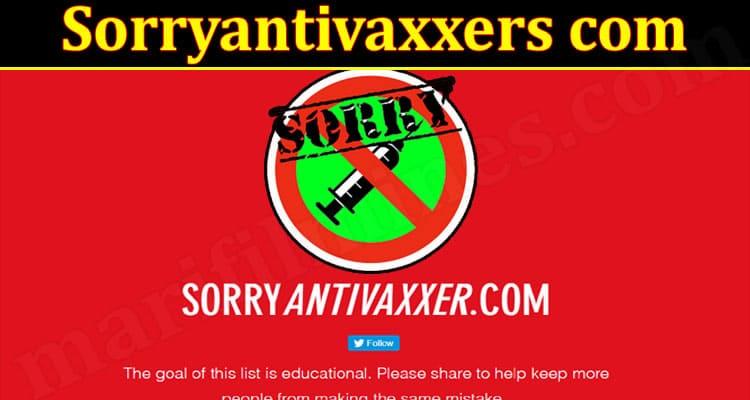 Latest News Sorryantivaxxers