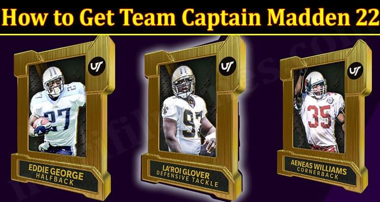 Latest News Team Captain Madden 22