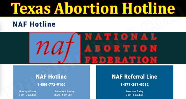 Latest News Texas Abortion Hotline