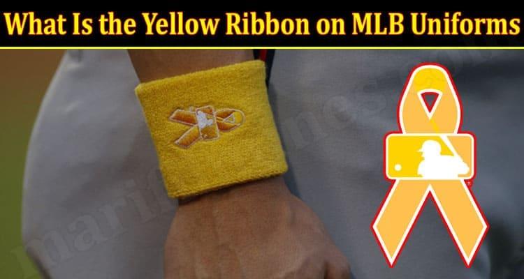 Latest News Yellow Ribbon on MLB Uniforms