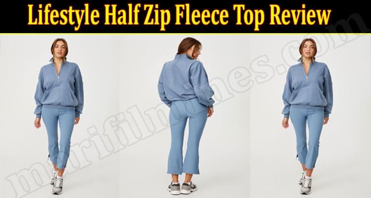 Lifestyle Half Zip Fleece Top online Product Review
