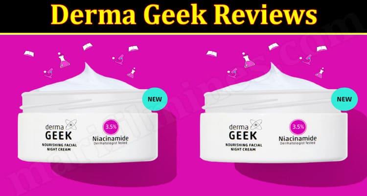 Derma Geek Online website Review
