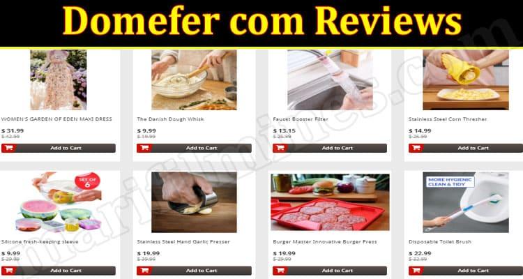 Domefer Online Website Reviews