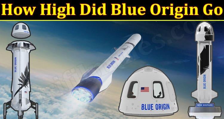 Latest News High Did Blue Origin Go
