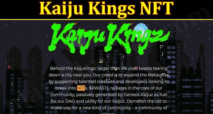 Latest News Kaiju Kings NFT