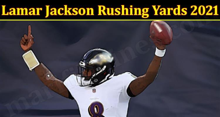Latest News Lamar Jackson Rushing Yards